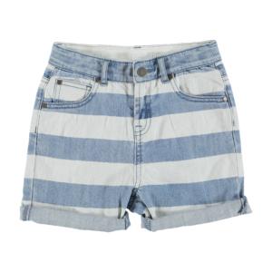 striped-denim-shorts