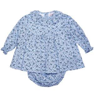 blue-floral-baby-set