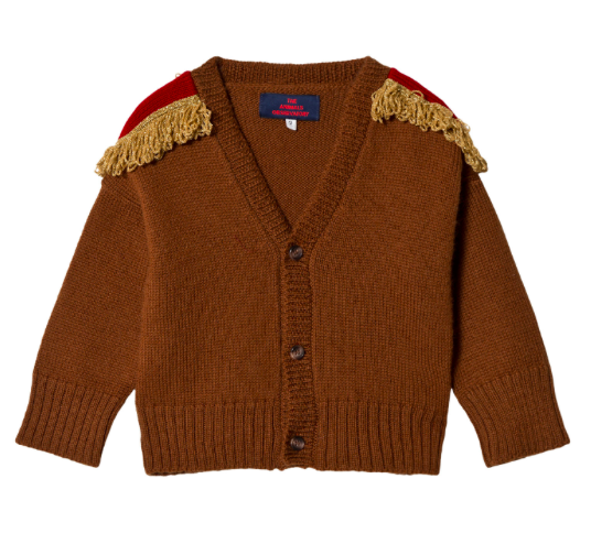 brown-fringed-shoulder-cardigan