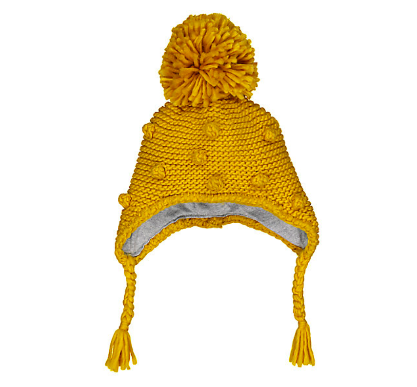 mustard-pompom-trapper-hat