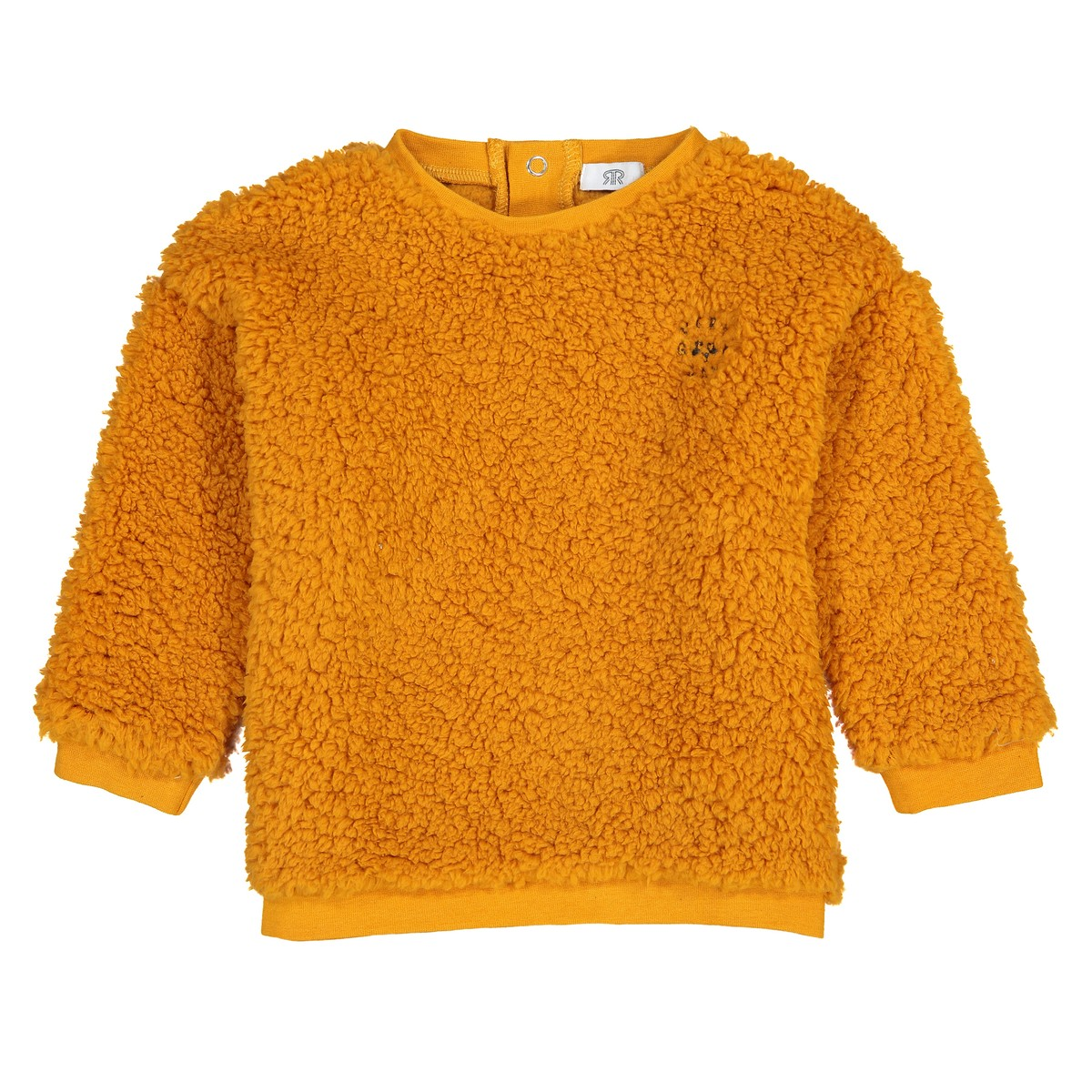 ochre-fluffy-sweatshirt