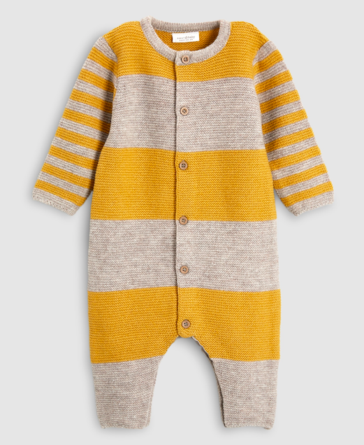 ochre-grey-stripe-knit-romper