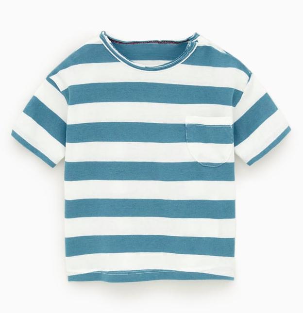 blue-striped-t-shirt
