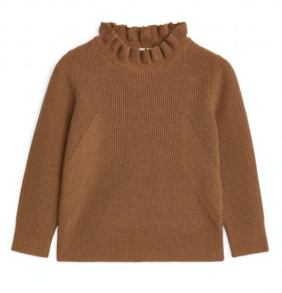 camel-cashmere-frill-jumper