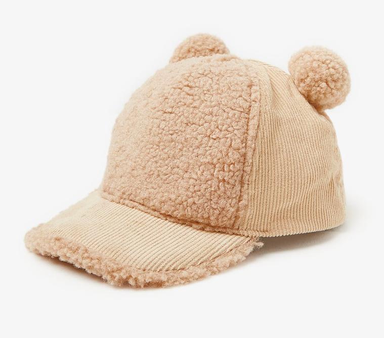 faux-shearling-corduroy-cap