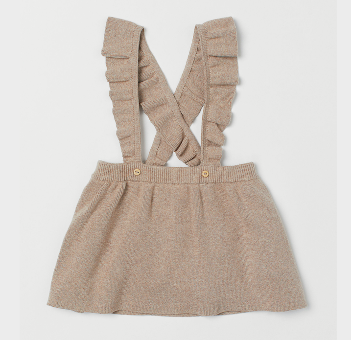 fine-knit-skirt-with ruffle-straps