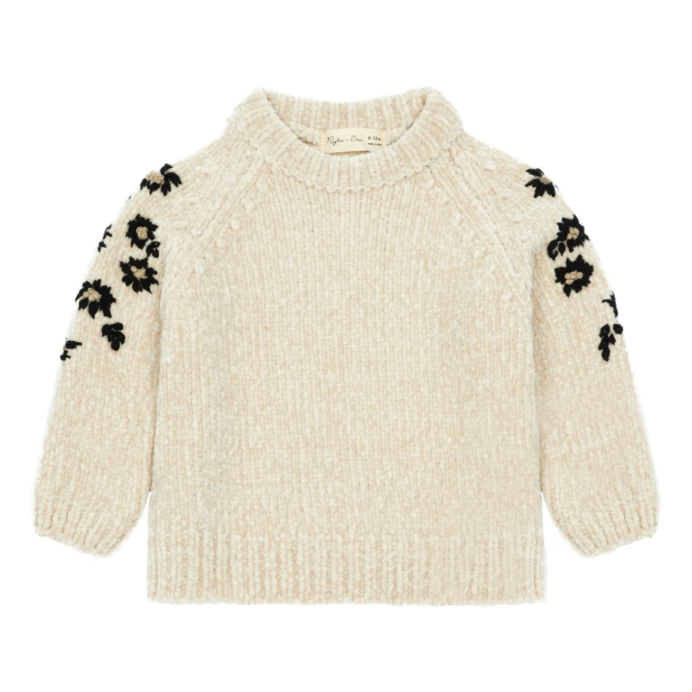 floral-chenille-fabric-jumper