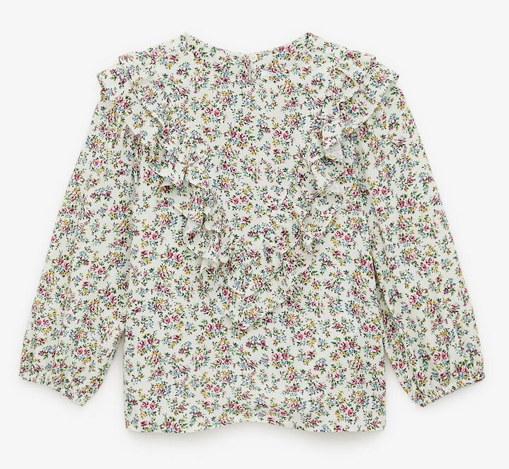 floral-printed-blouse