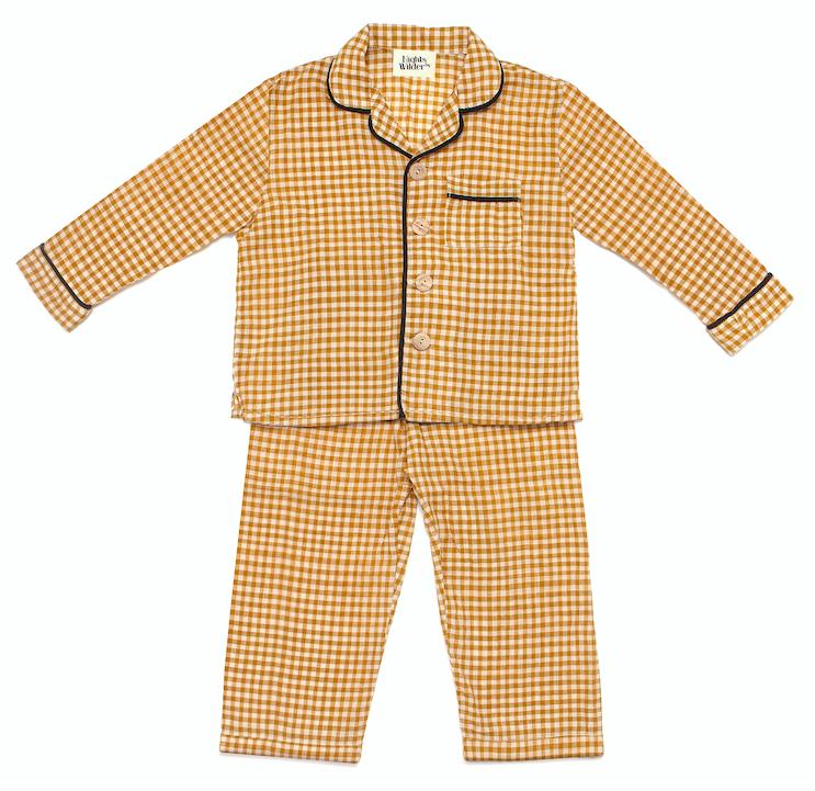 gingham-check-pyjamas