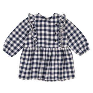 gingham-ruffle-dress