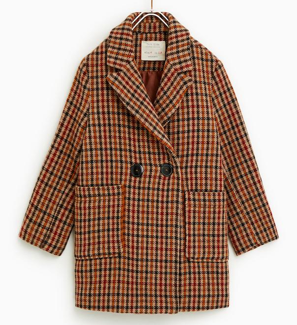 girls-check-coat