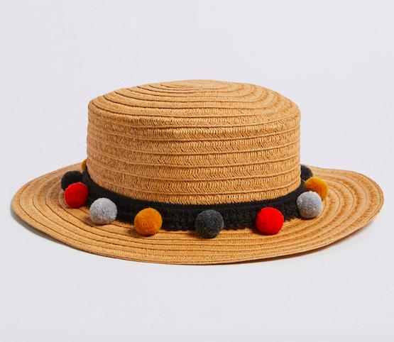 girls-straw-pom-pom-hat