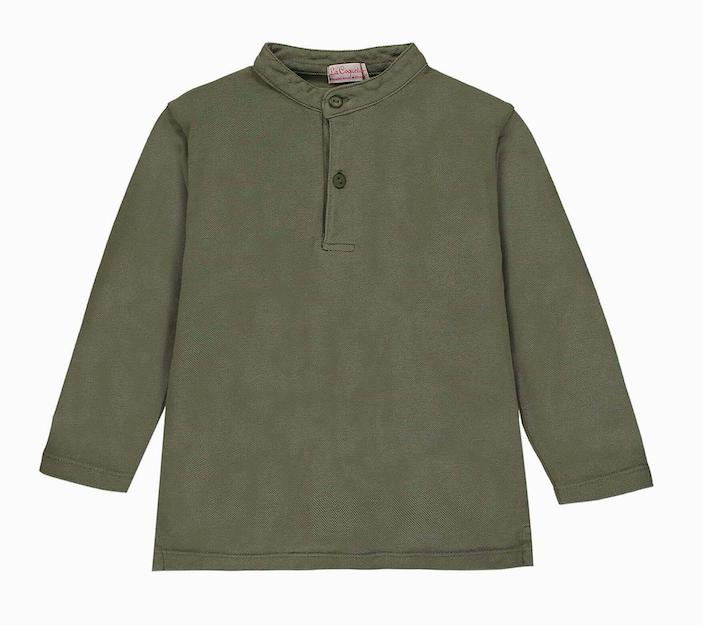 green-polo-shirt