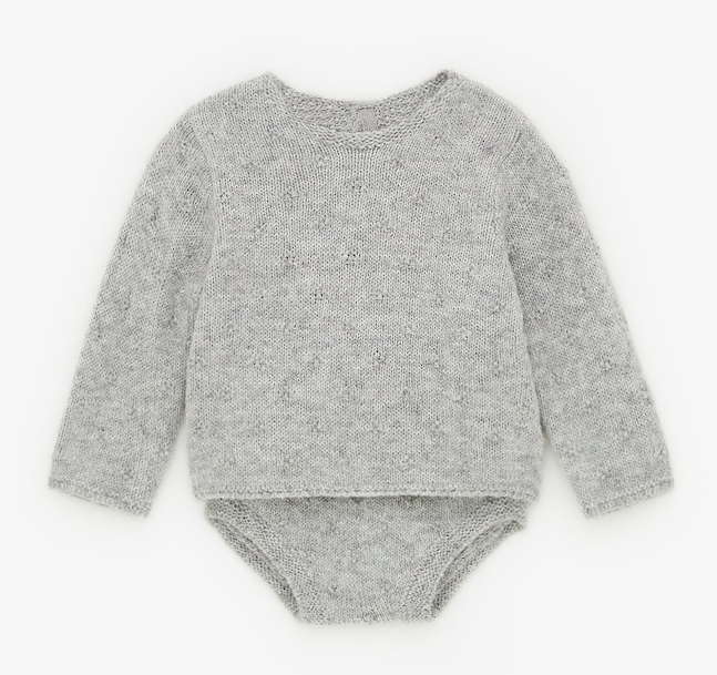grey-knit-jumper-set