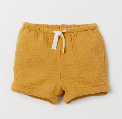 mustard-baby-shorts