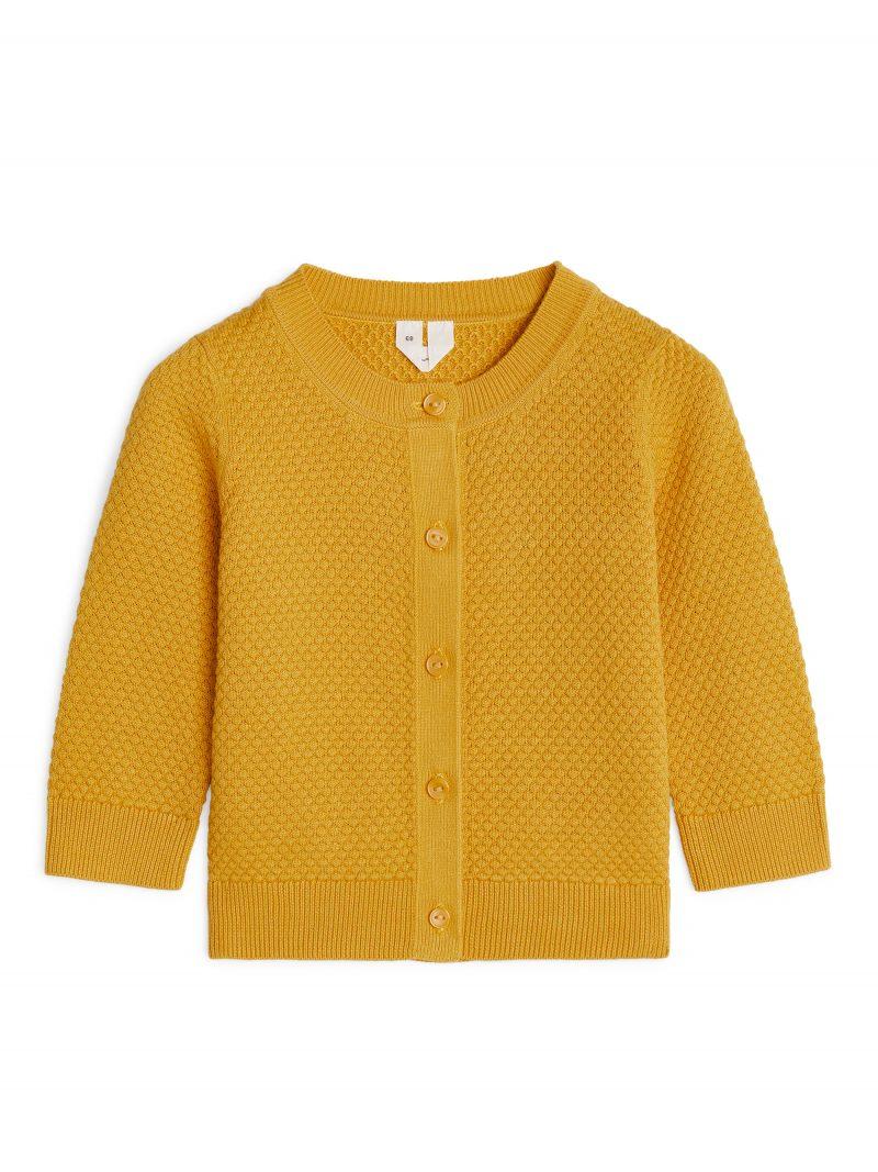 mustard-knit-baby-cardigan