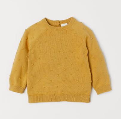 mustard-knit-baby-jumper