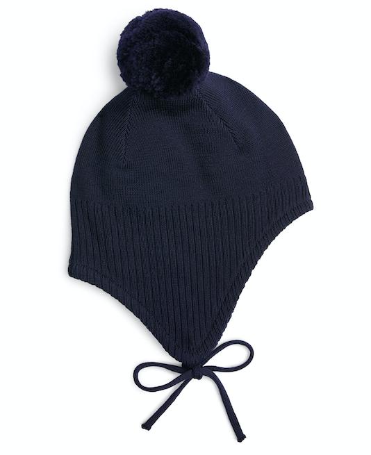 navy-baby-bonnet-pom-pom