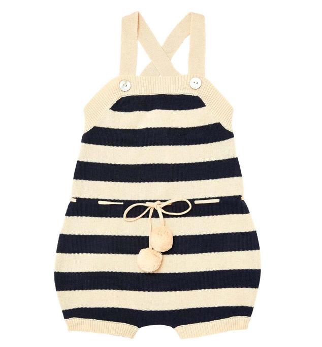 navy-stripe-knit-romper