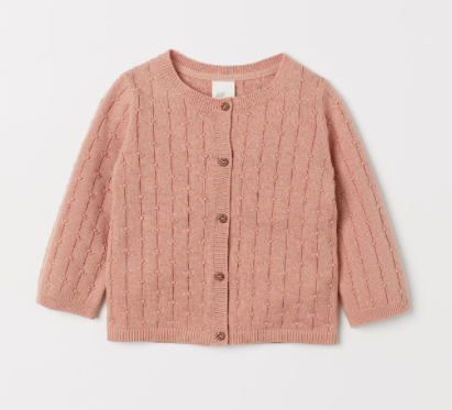 pink-knit-baby-cardigan