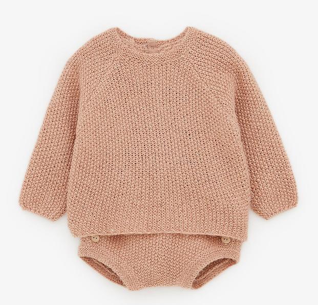 pink-knit-baby-set