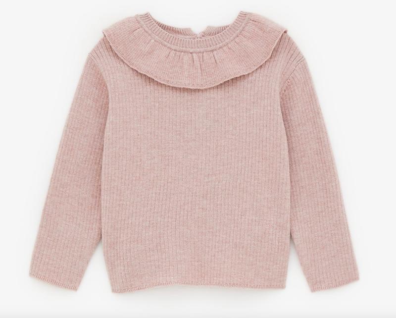 pink-ruffle-knit-jumper