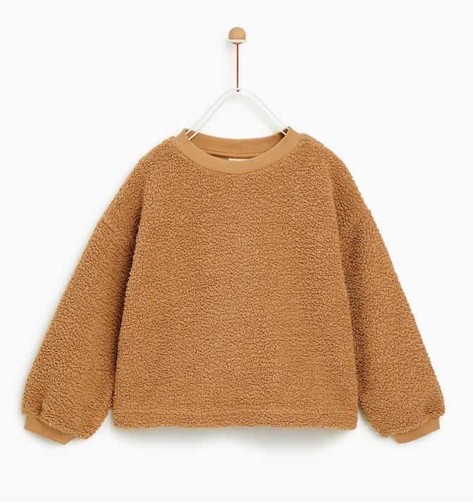 shearling-jumper