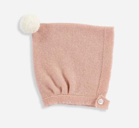 vintage-pink-cashmere-bonnet