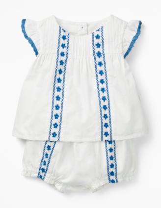 white-baby-set