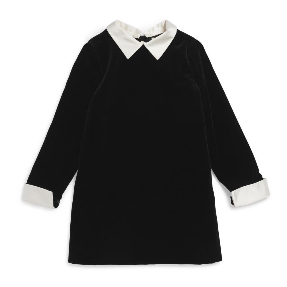 black-velvet-dress-with-white-collar