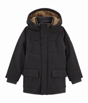 boys-grey-coated-canvas-parka