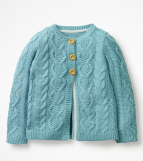 girls-blue-knit-cardigan