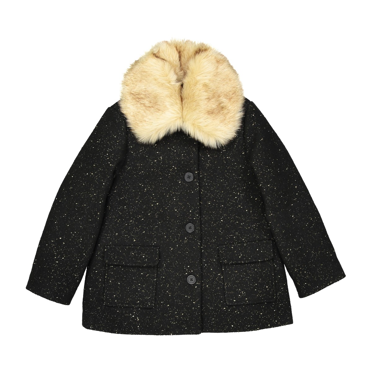 girls-fur-collar-coat