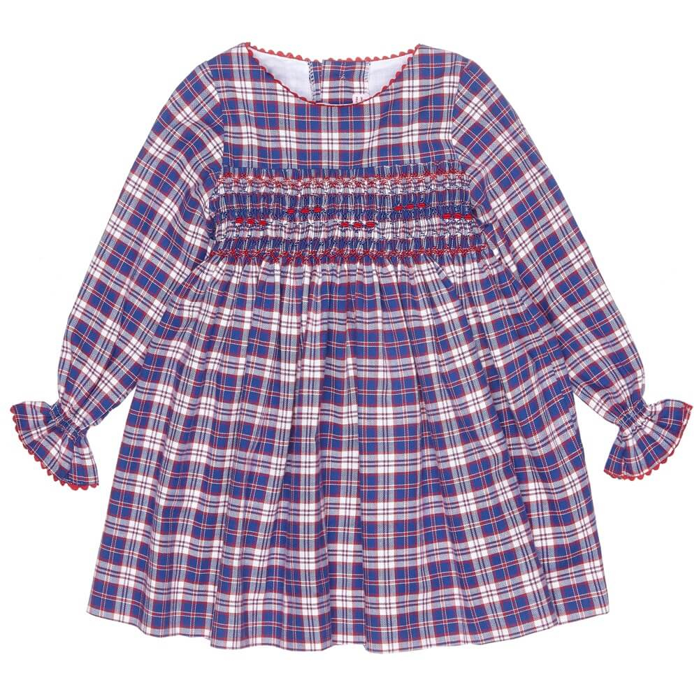 girls-tartan-smock-dress