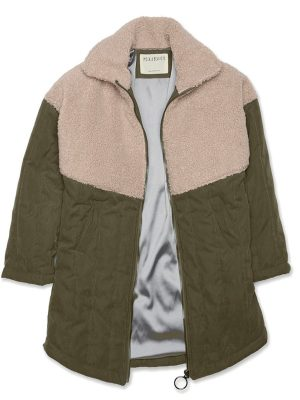 green-faux-shearling-coat