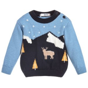 blue-christmas-knit-jumper