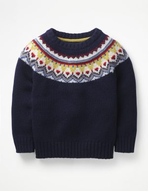 chunky-navy-fair-isle-jumper