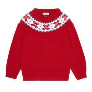 kids-red-fairisle-jumper