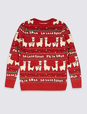 llama-christmas-jumper