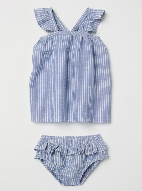 blue-striped-baby-set