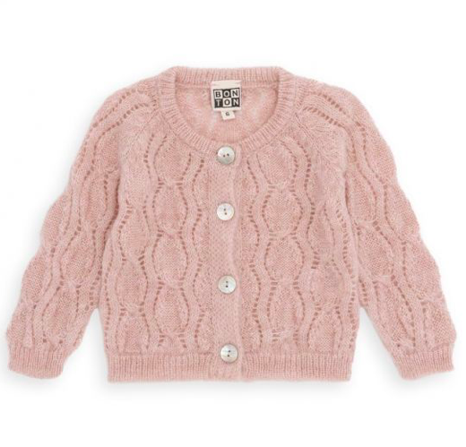 pink-cable-stitch-cardigan