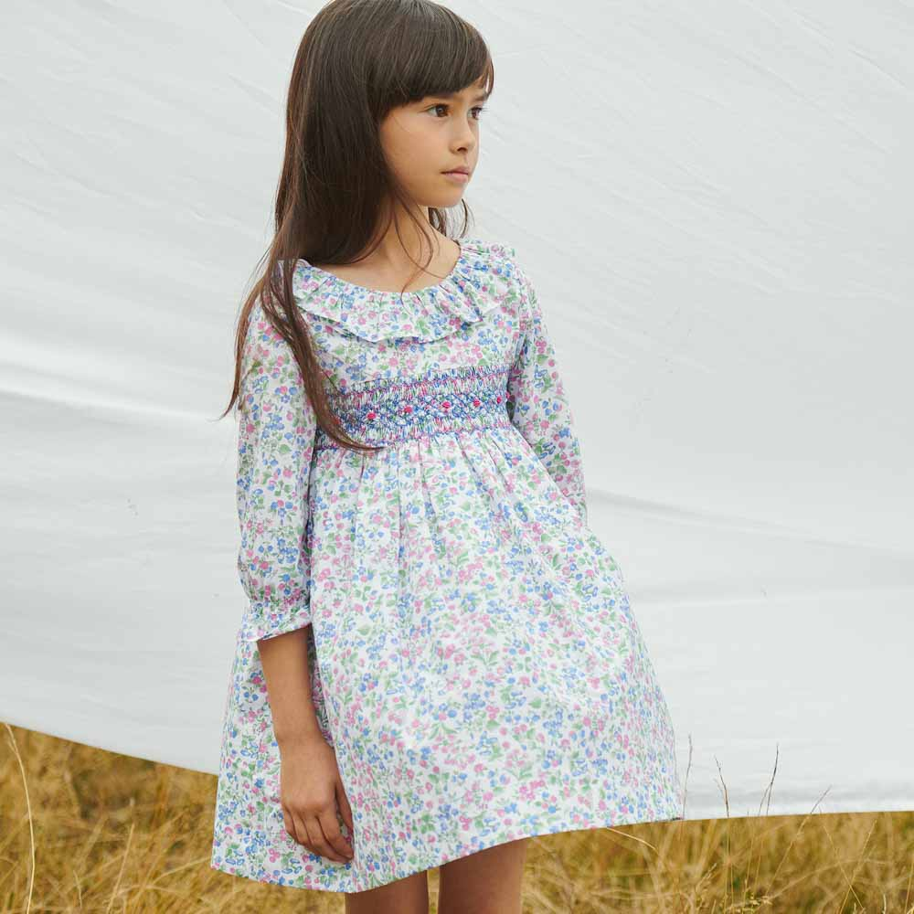 floral-smocked-dress