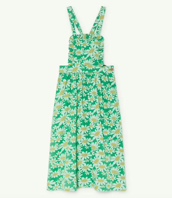 girls-green-floral-dress