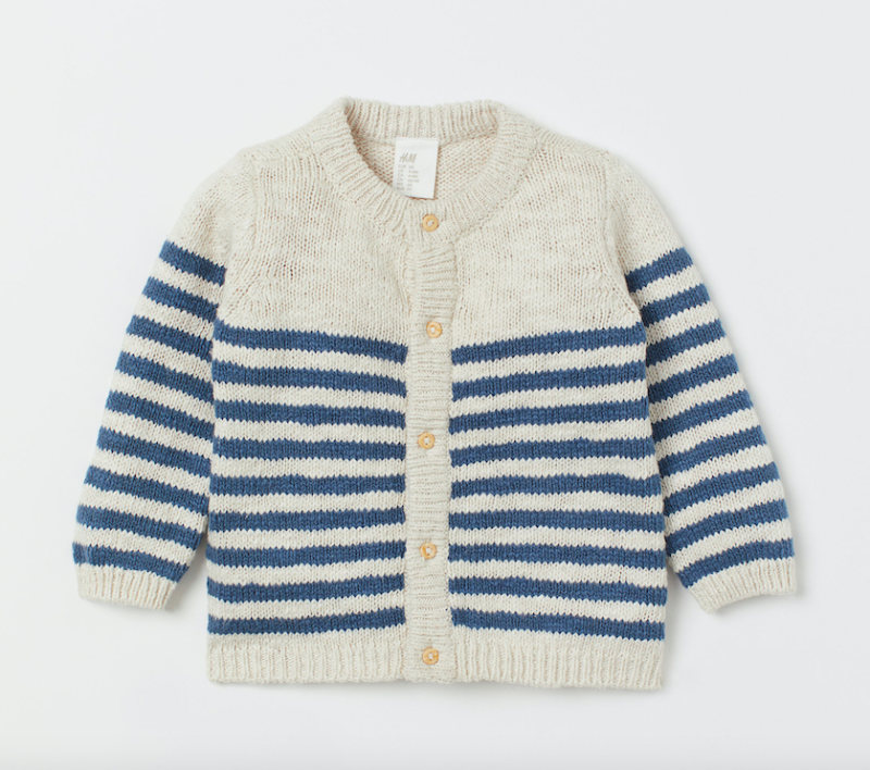 striped-knitted-cardigan