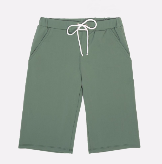 khaki-long-swim-shorts