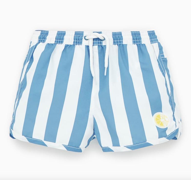 pastel-stripe-swim-shorts