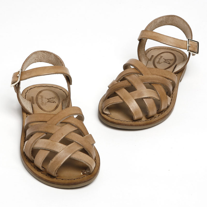 girls-tan-leather-sandals