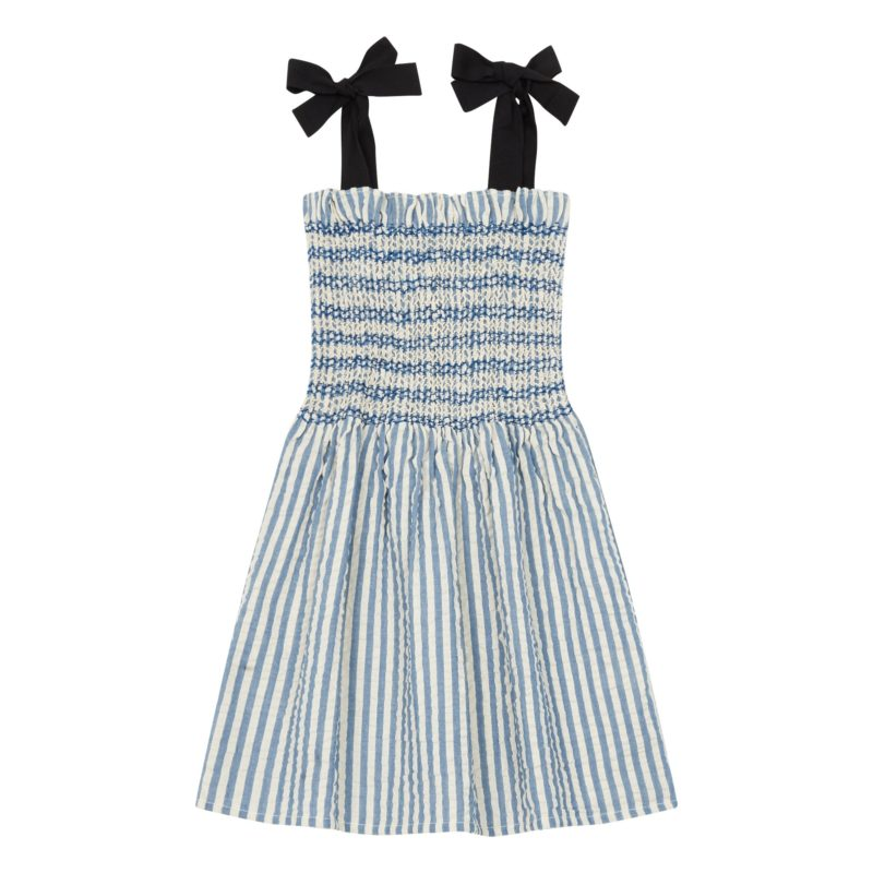 seersucker-shirred-blue-stripe-dress