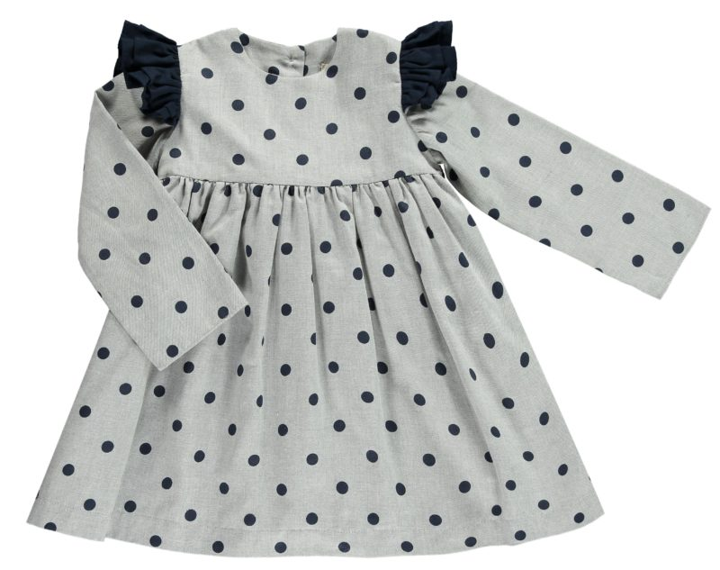 girls-grey-navy-polka-dot-dress
