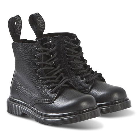kids-black-dr-martens-boots